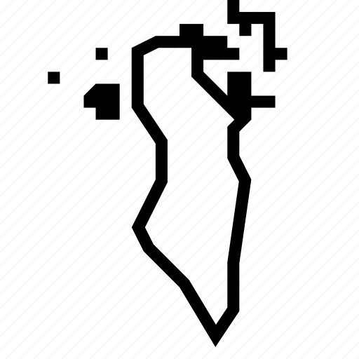 bahrain, map icon