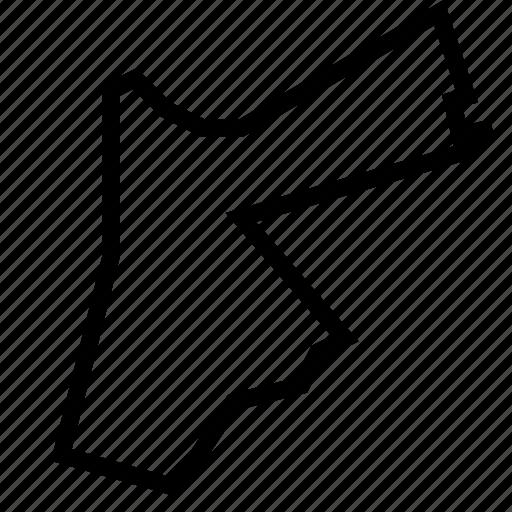 jordan, map icon