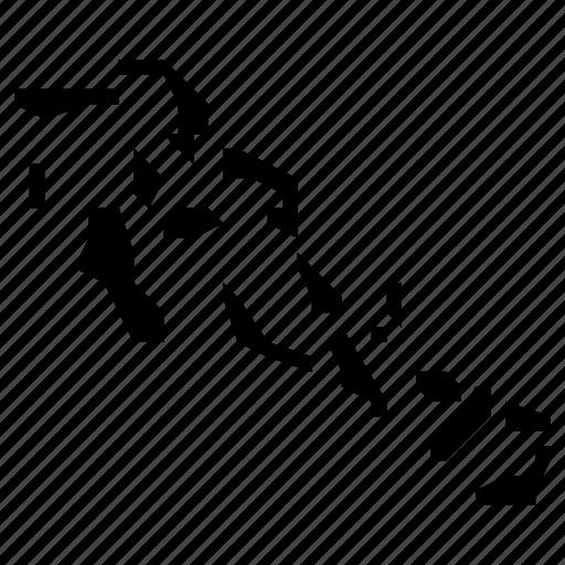 bahamas, map icon
