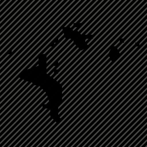 map, seychelles icon