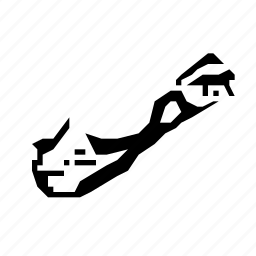 bermuda, map icon