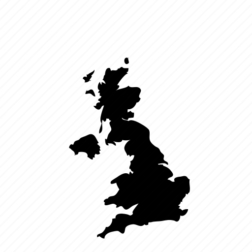 United Kingdom Country Uk Geography Map Icon