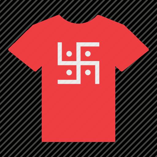 flag, hindu, hinduism, jersey, religion, shirt, t-shirt icon