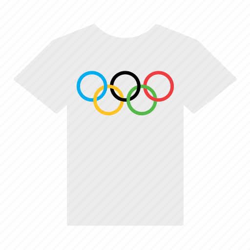 flag, games, jersey, olympic, olympics, shirt, t-shirt icon