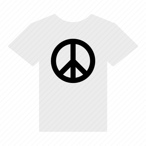 clothes, clothing, flag, jersey, peace, shirt, t-shirt icon