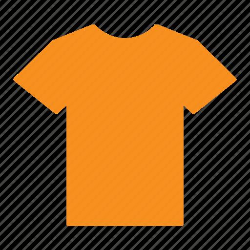 clothes, clothing, jersey, orange, shirt, t-shirt icon