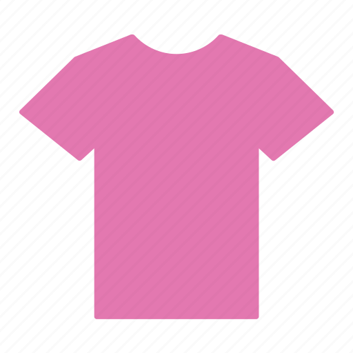 clothes, clothing, jersey, pink, shirt, t-shirt icon