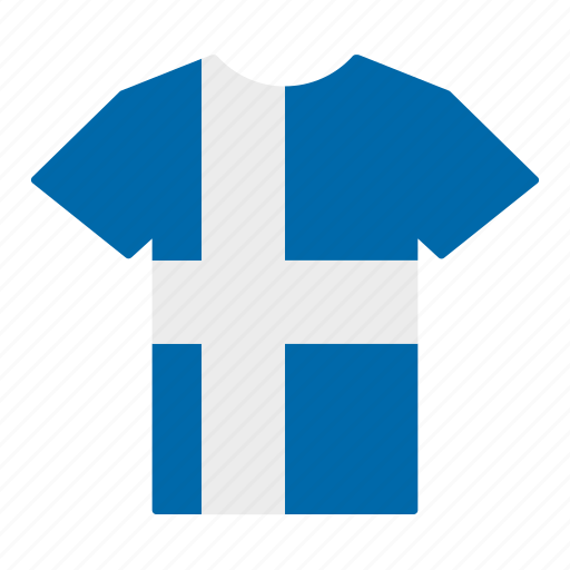 country, finland, finn, finnish, flag, jersey, shirt icon