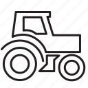 engine, gardering, machine, tractor icon