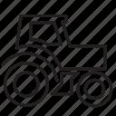 engine, gardering, machine, tractor