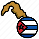 cuba, flag, country, nation, flags, map, location