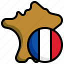 france, flag, map, maps, location, country