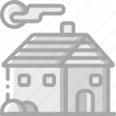 building, cabin, cottage, home, house, shelter, small icon