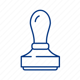lawyer, poa, stamp icon