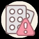 ad, coronavirus, fake, remedy icon