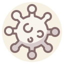 coronavirus, disease, virus icon