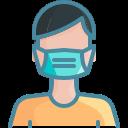 face mask, human, hygiene, mask, person, wear