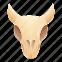 cow, nature, skull, tribal