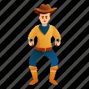 bandit, cowboy, crazy, man, money, pistols