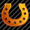 hand, horse, horseshoe, luck, retro