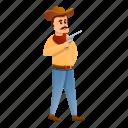 cowboy, fashion, girl, star, man