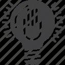 lightbulb, lamp, idea, hand