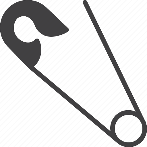 handmade, pin, safety icon