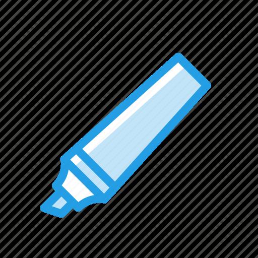 bold, dark, highlighter, line, marker, sketch, tool icon