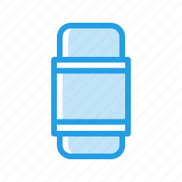 crafting, erase, eraser, rubber, stationary, tool icon