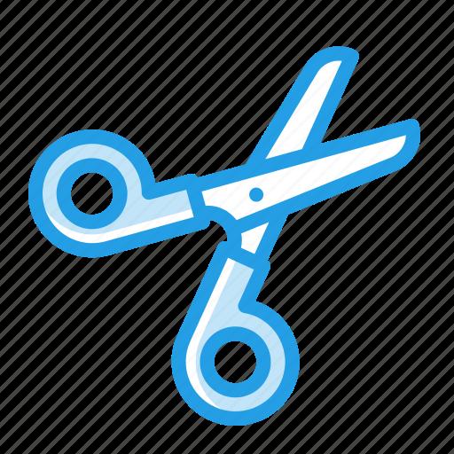 crafting, cut, scissor, stationary, tool, trim icon