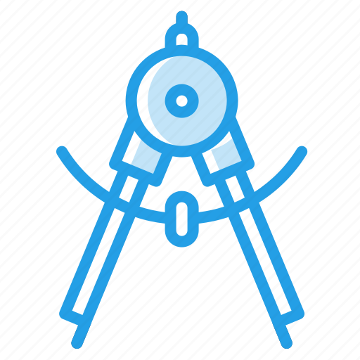 circle, compass, degree, instrument, rotator, stationary, tool icon