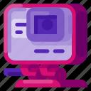 action camera, adventure, art, camera, creative, documentation, science icon