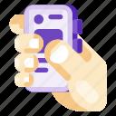 app, art, creative, hand, internet, mobile, science icon