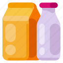 art, bottle, creative, design, drink, packaging, science icon