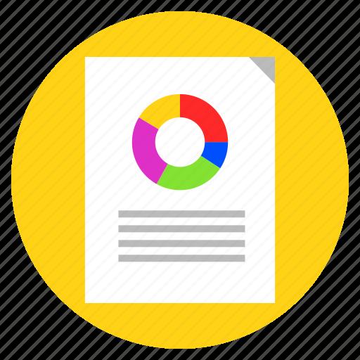 analysis, analytical report, analytics, data analytics, presentation icon