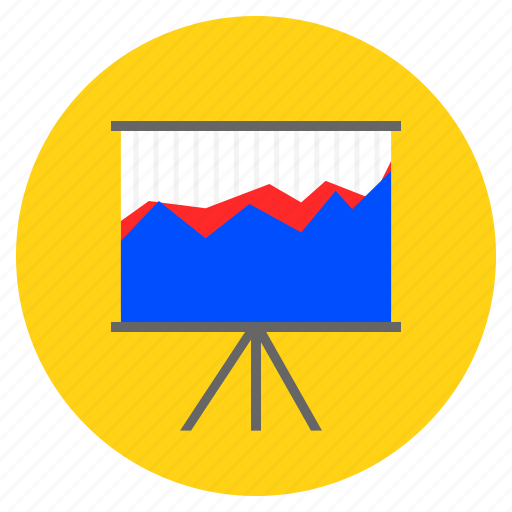 analytical, analytics, comparison graph, graph, presentation icon