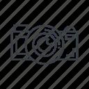 concept, creative, editor, photo icon