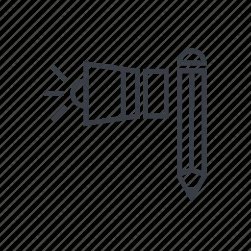 concept, creative, design, revision icon