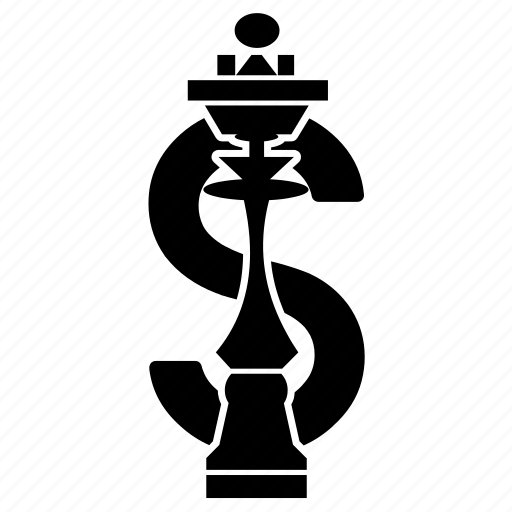 chess, dollar, finance plan, fund, investment, money, strategy icon