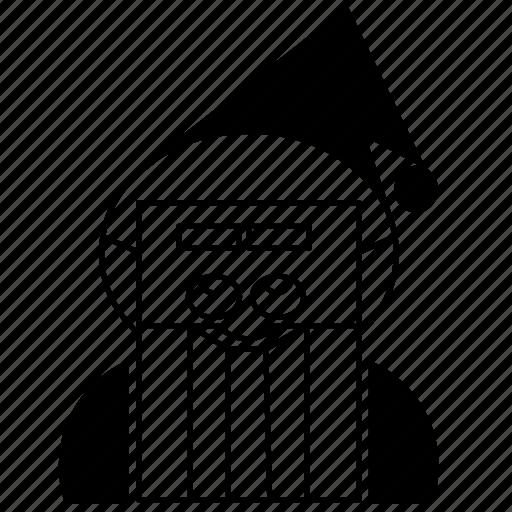 avatar, christmas, santa, santa claus, season, user, xmas icon