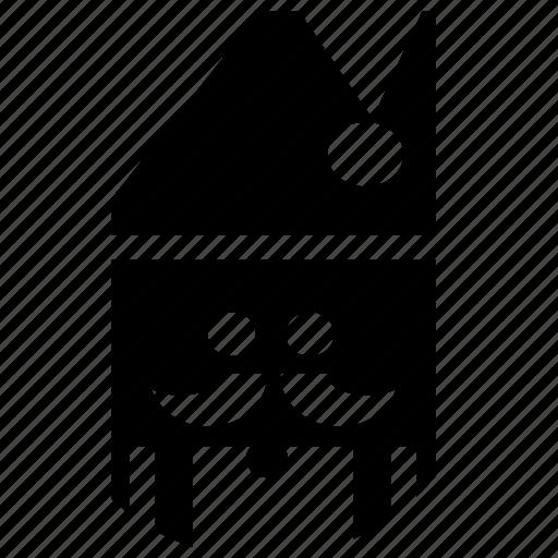 avatar, creative, design, santa, snow, user, xmas icon