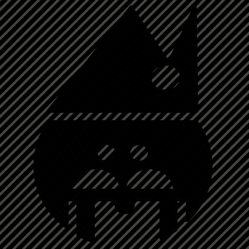 avatar, creative, design, santa, santa claus, snow, user icon