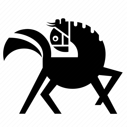 animal, horse, mare, nature, pony, stud, wild icon