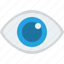 eye, eyeball, eyesight, look, looking, privacy, public, review, search, view, vision, watch, watching icon