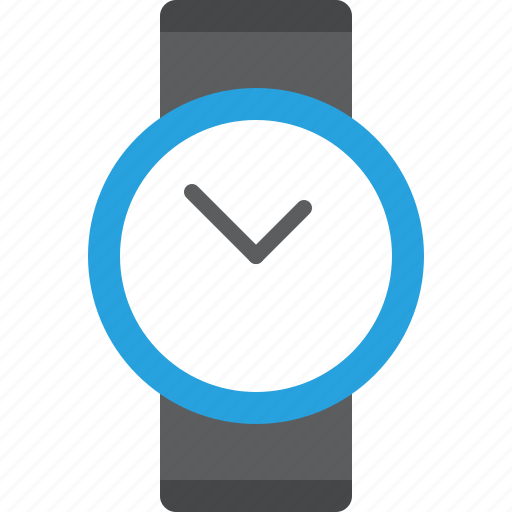business, chronometer, clock, deadline, hour, modern, round, simple, time, timer, watch, wrist, wristwatch icon