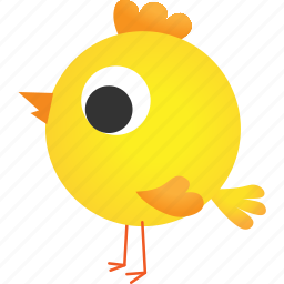 animal, baby, chicken, cute, easter, hatchery, idea icon