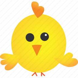 animal, baby, chicken, cute, easter, hatchery icon