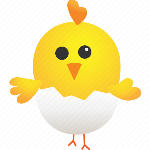 animal, broken, chicken, egg, farming, hatchery, idea icon