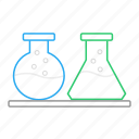 chemical, chemical container, chemistry, lab, laboratory, science, test icon