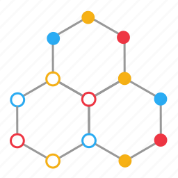 atom, bonding, chemistry, formula, molecule, nucleus, science icon